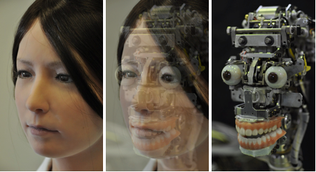 Geminoid F: More Video and Photos of the Female Android