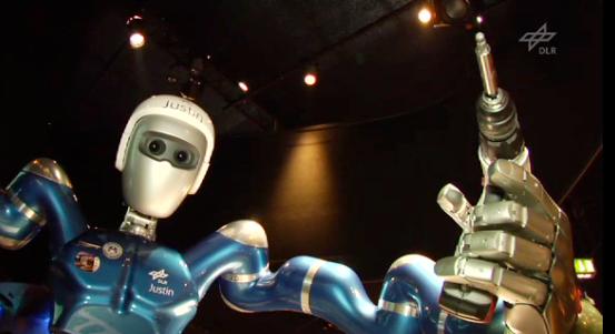 Humanoid Robot Justin Learning To Fix Satellites