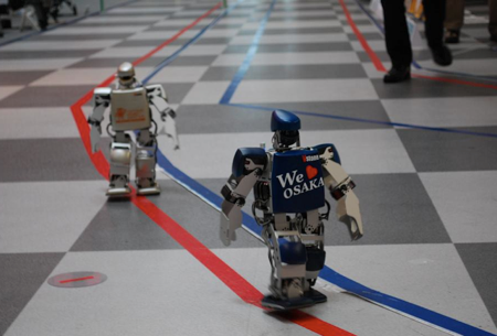 World's First Robot Marathon Ends With Great Finale
