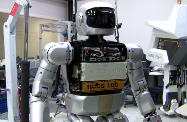 Hubo II Humanoid Robot Is Lighter and Faster, Makes His Creator Proud