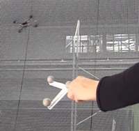 Controlling a Quadrotor Using Kinect