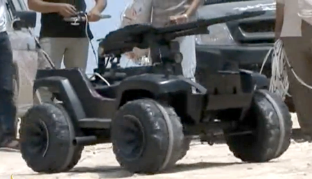 Libyan Rebels Making Armed Robots From Power Wheels Toys