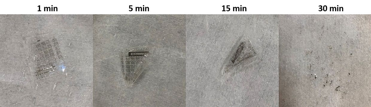 Now You See It Now You Don't: A Soluble Memristor