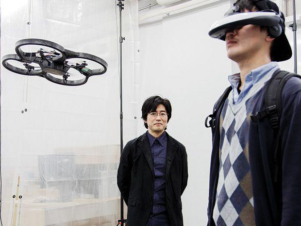 Sony's Jun Rekimoto Dreams Up Gadgets for the Far Future