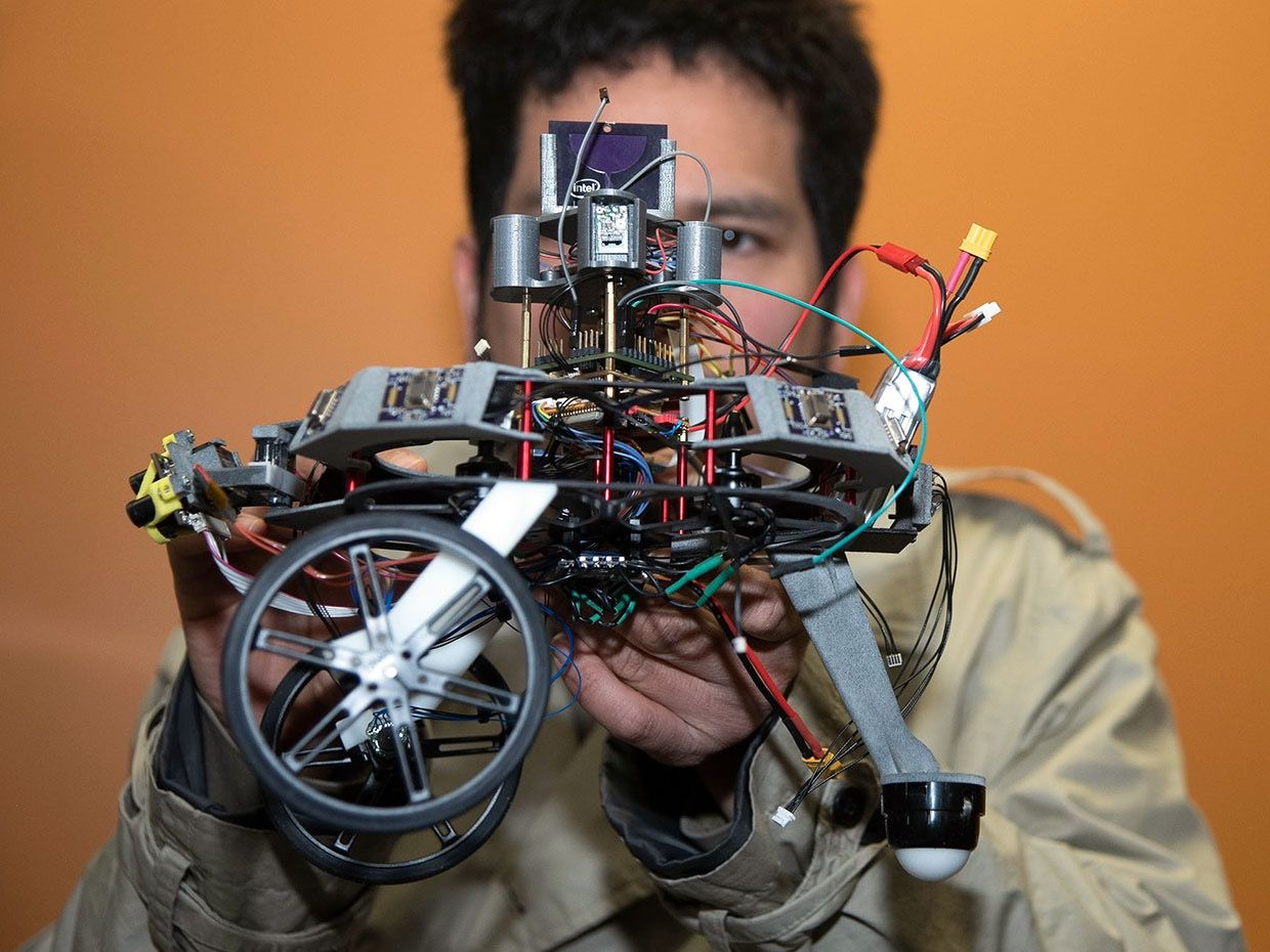 Intel and academic groups are designing specialized hardware to speed path planning and other aspects of robot coordination