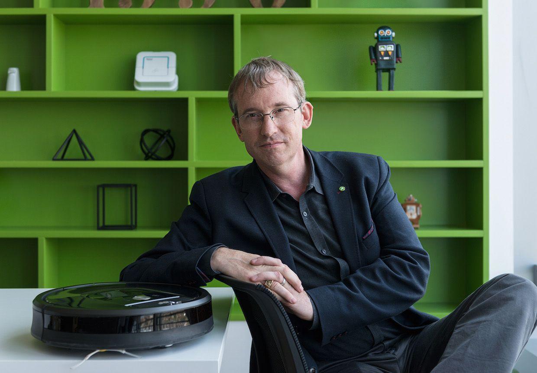 iRobot CEO Colin Angle.