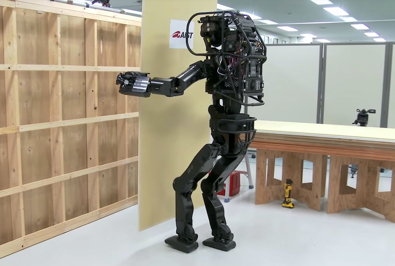 Japan's HRP-5P humanoid robot