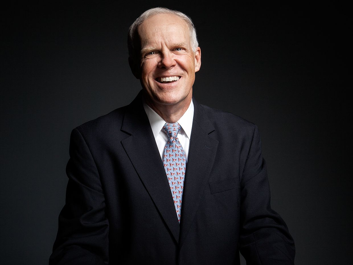 John Hennessy, photographed in 2012 for IEEE Spectrum.