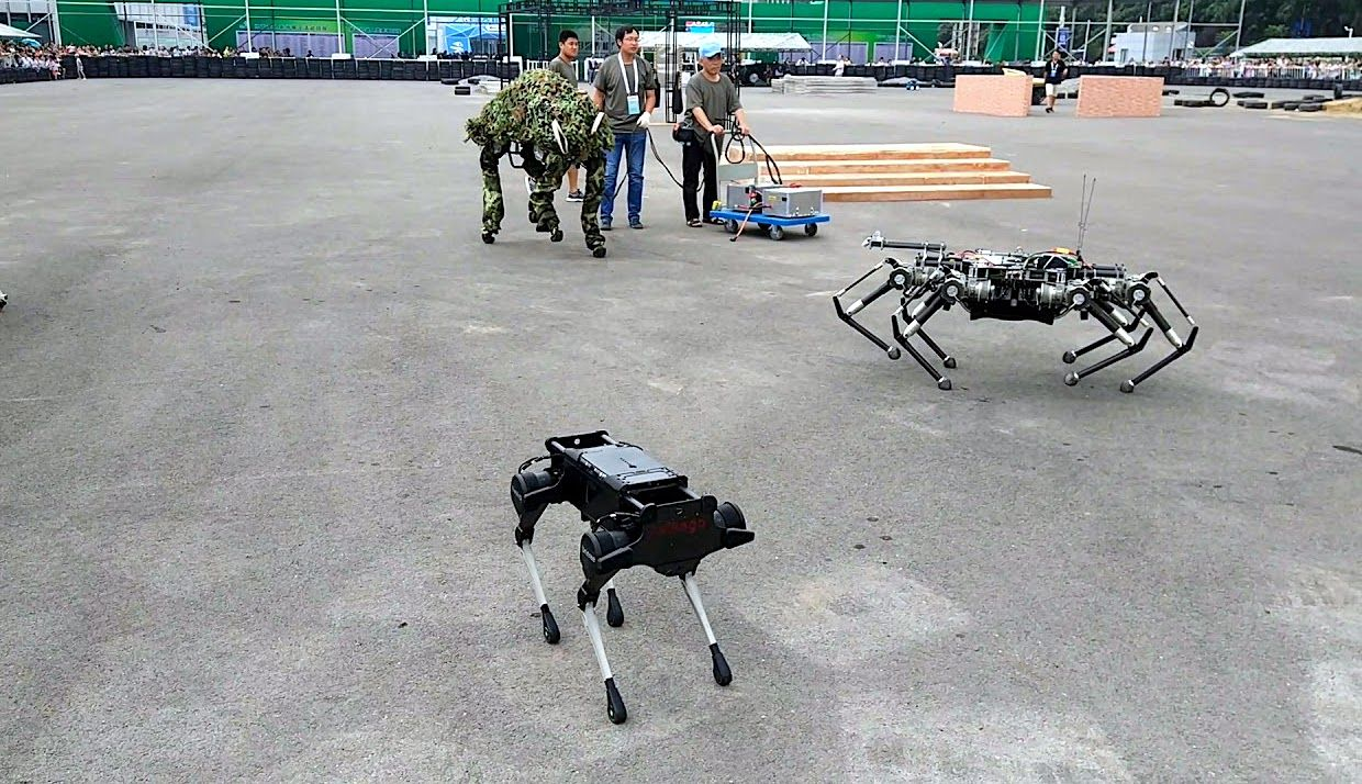Laikago and other Chinese legged robots