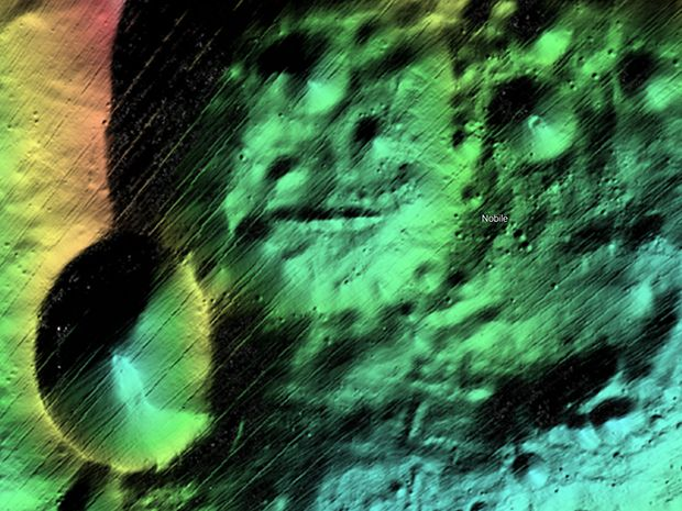 Machine learning is being used to produce more accurate maps of the moon's surface.