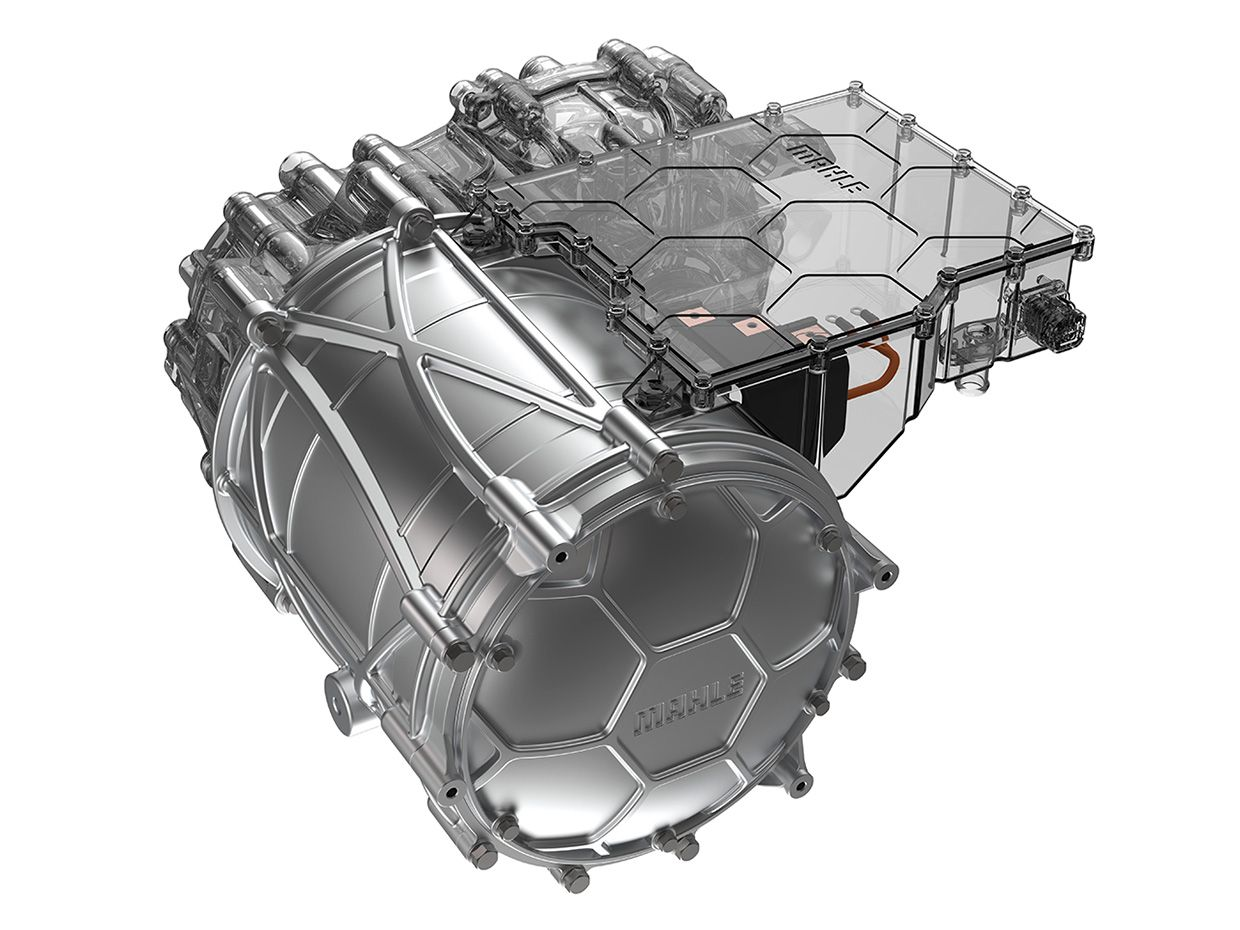 Mahle's Contact-Free Electric Motor
