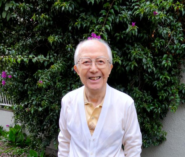 Masahiro Mori at his home in Tokyo.