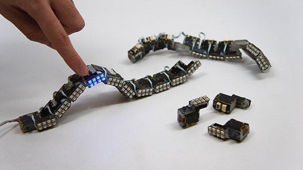 MIT's ChainFORM modular robot