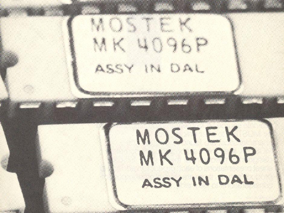 Mostek chip