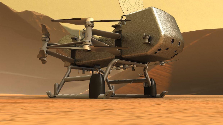NASA Is Sending a Flying Robot to Saturn's Moon Titan