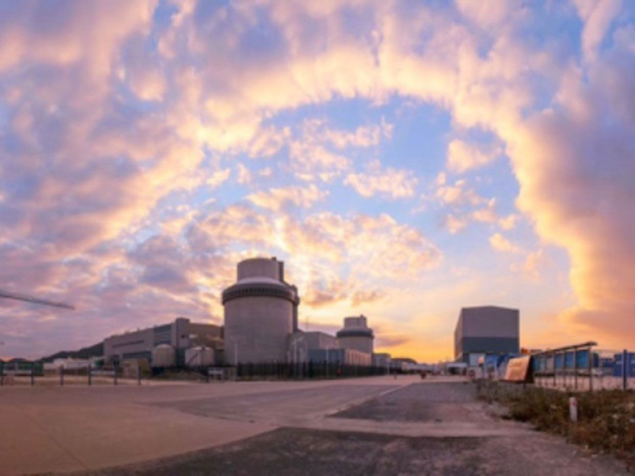 Nine years after construction began at China's Sanmen Nuclear Power Plant the world's first AP1000 unit has connected to the grid