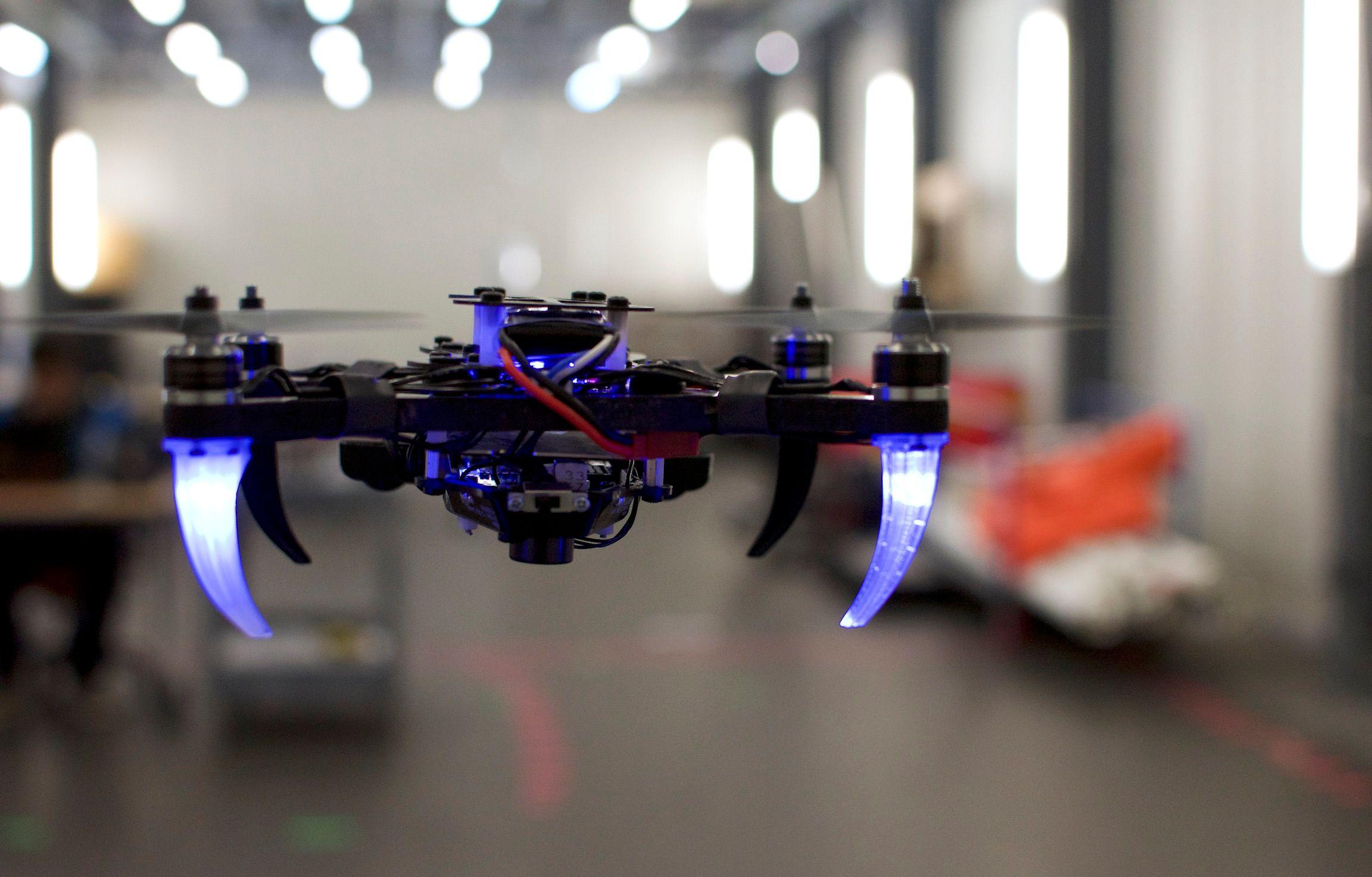 NYU and UPenn eye-tracking controlled drone