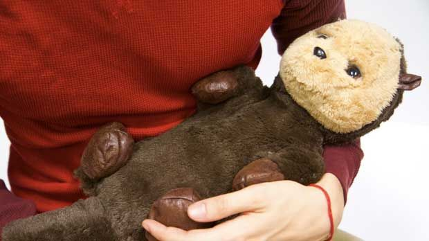 Ollie the Baby Otter Is a Therapy Robot That's Actually Affordable