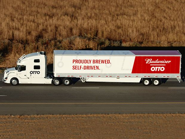 Otto's ultimate beer run may signal the coming of the day when drinking and driving is no longer a deadly combination.
