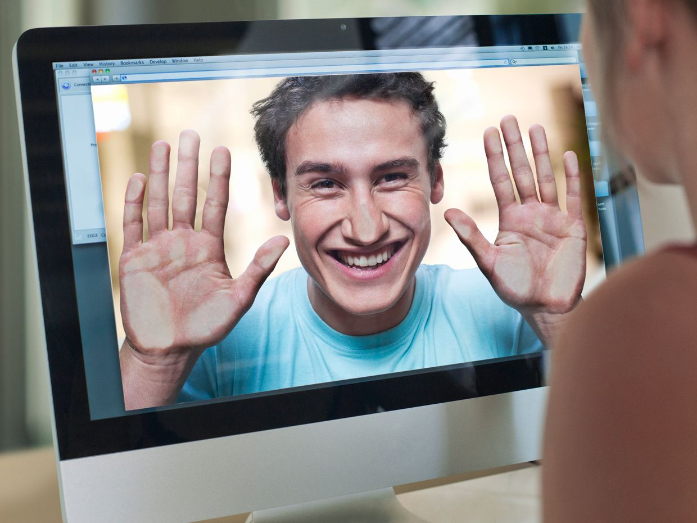 Photo of computer monitor