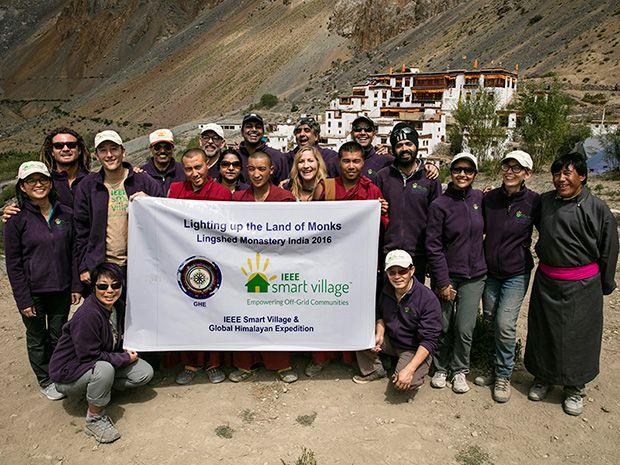 Photo of IEEE Smart Village team