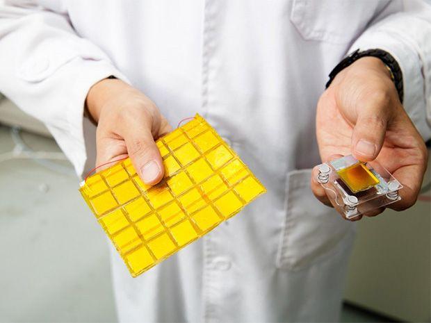Photo of polymer-enhanced TENG