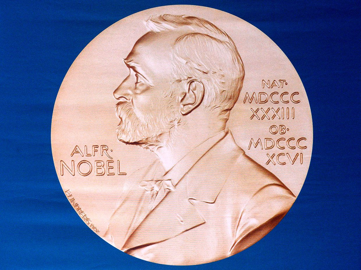 Photo of the Nobel Medal