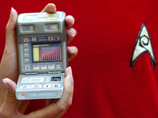 Picture of a tricorder from Star Trek