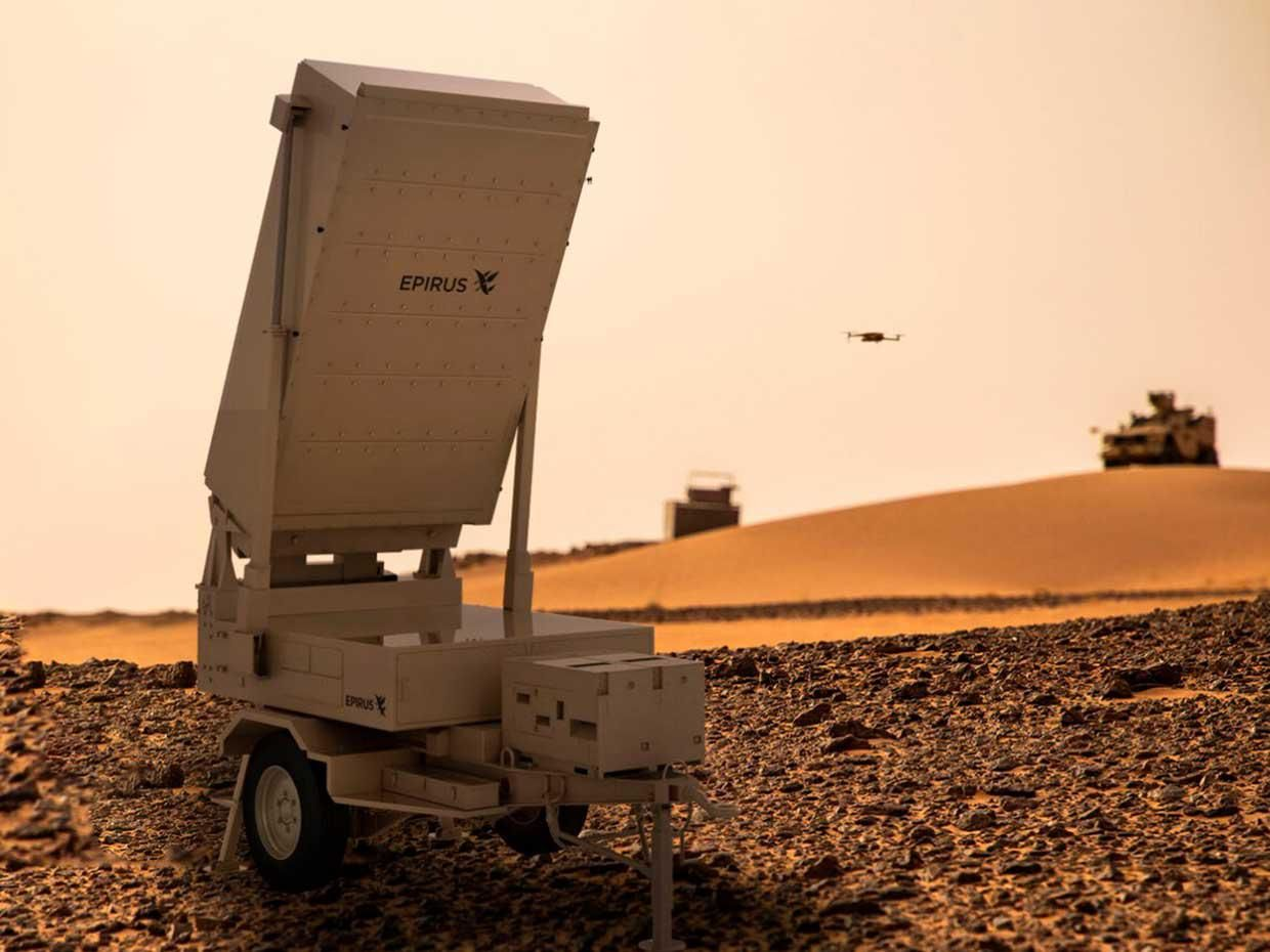 Prototype of a Leonidas microwave weapon