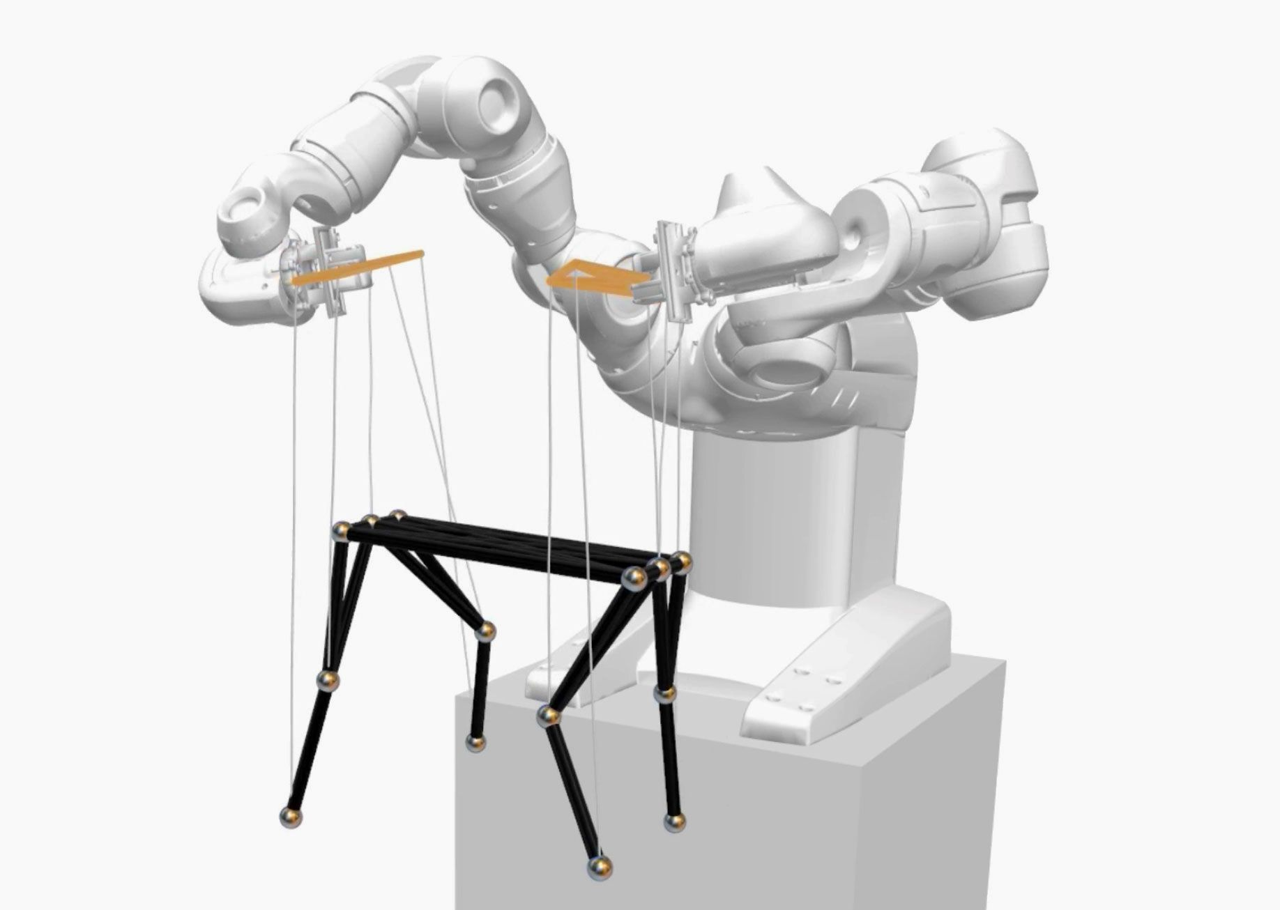 PuppetMaster Robot Pulls the Strings