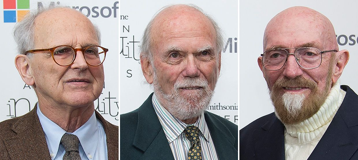 Rainer Weiss, Barry Barish, and Kip Thorne, have been awarded the Nobel Physics Prize 2017 for their gravitational wave work.