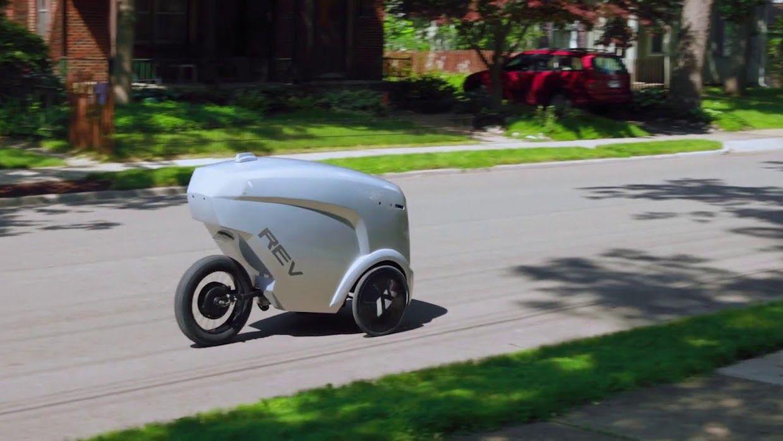 Refraction AI autonomous vehicle REV-1