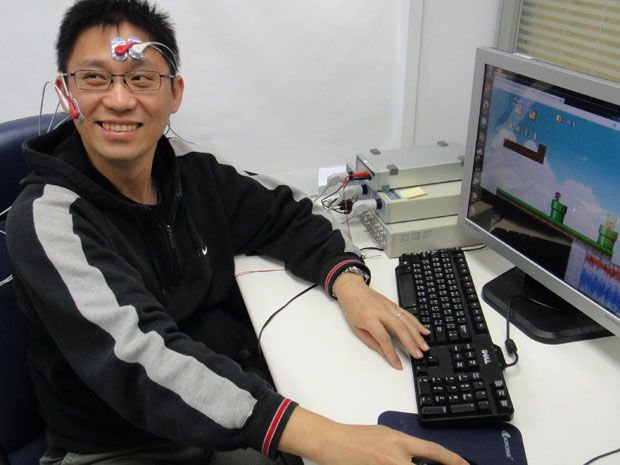 Researchers in Taiwan recorded the electrical signals of muscles involved in positive and negative emotions when subjects played a new online game.