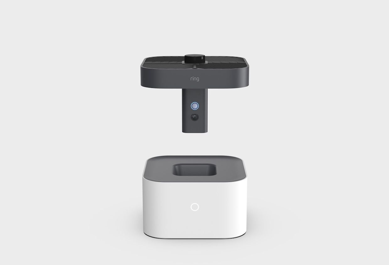 Ring security camera drone