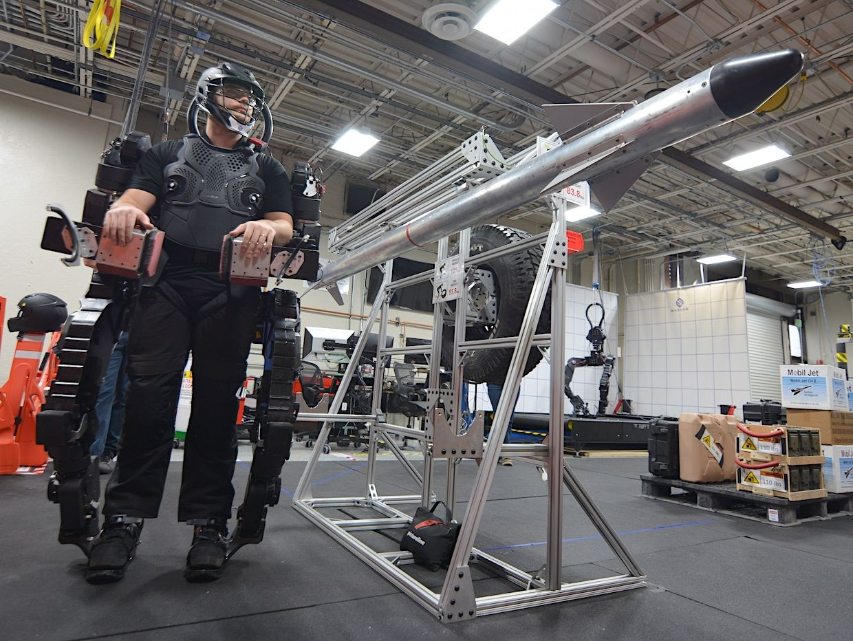 Sarcos exoskeleton