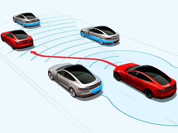 selfdriving car changing lanes