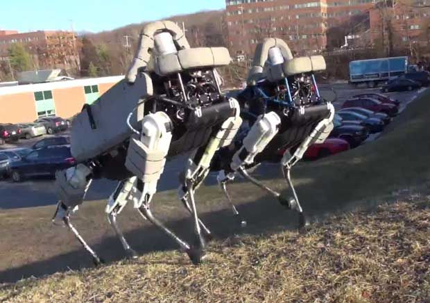 Spot Is Boston Dynamics' Nimble New Quadruped Robot