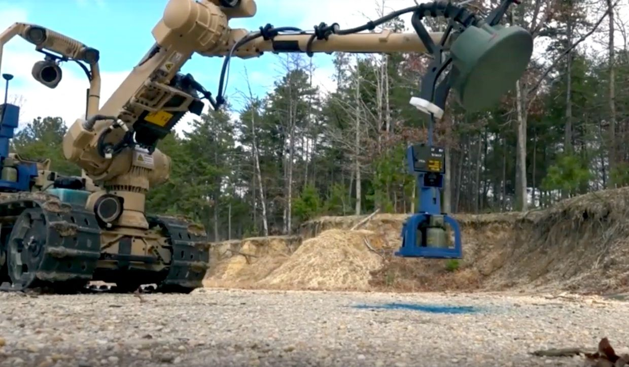 SREHD is a semi-autonomous mine and IED detection system that provides the ability to remotely detect, mark, and optionally neutralize buried, metallic and low metallic mines, bulk explosives, and various IED components