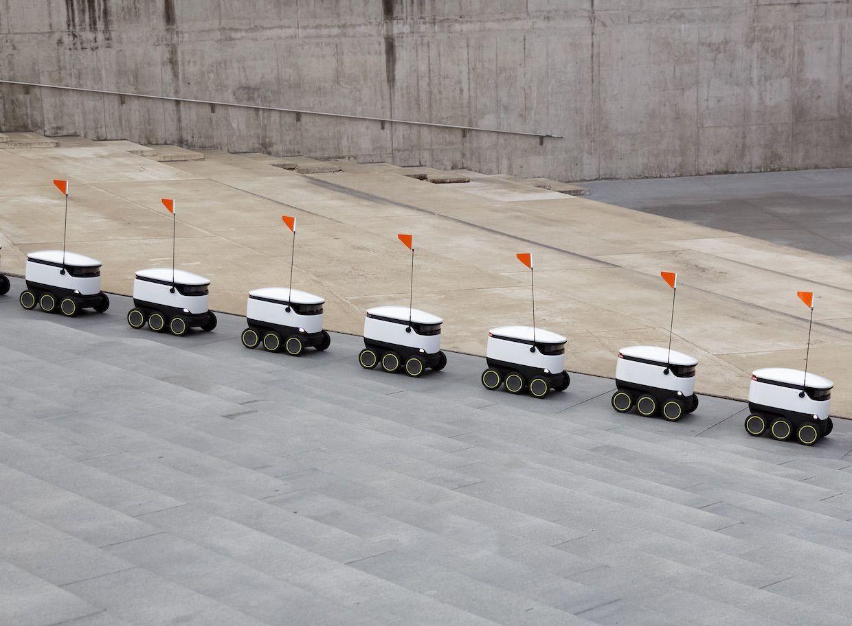 Starship robots