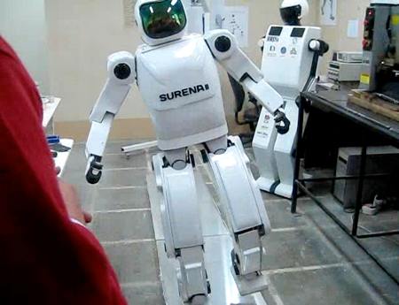 Surena II, an adult-size humanoid robot developed at the University of Tehran, in Iran