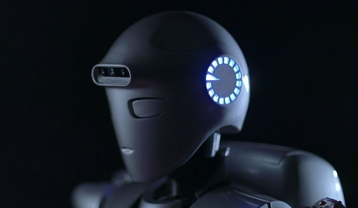 Surena IV, a humanoid robot developed by Iranian roboticists