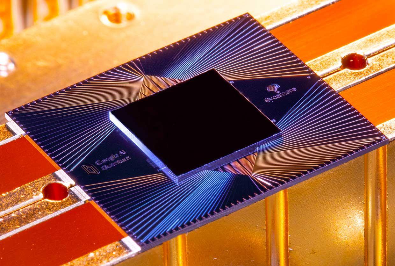 Sycamore, Google's superconducting qubit quantum processor