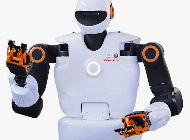 TALOS humanoid robot from PAL Robotics