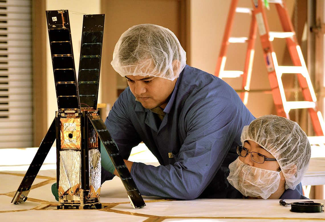 Privately-funded Solar Sail Prepared For Launch