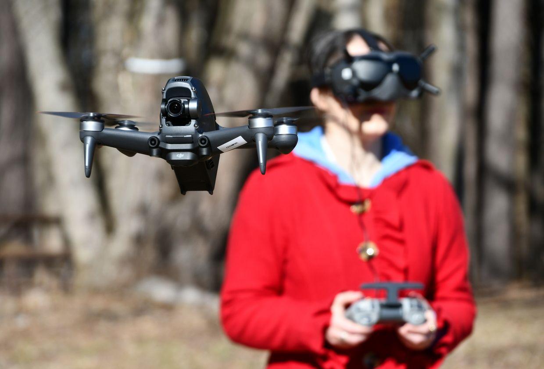 Testing DJI's New FPV Drone