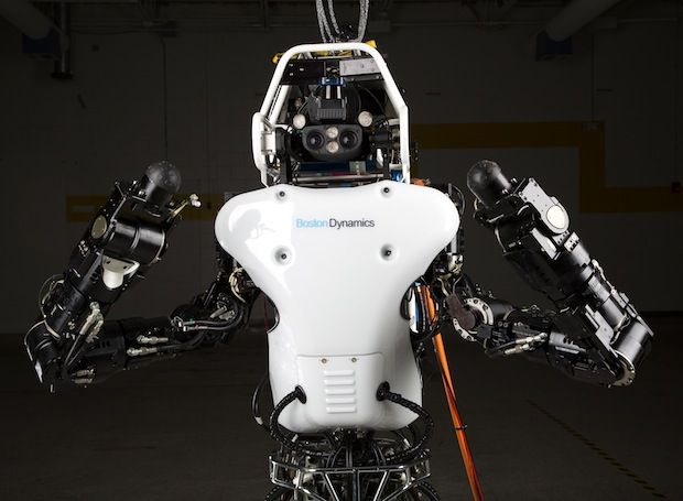 ATLAS DRC Robot Is 75 Percent New, Completely Unplugged
