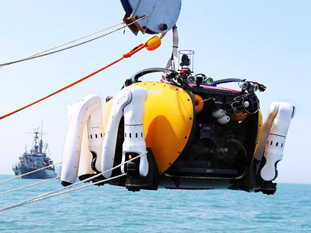Crabster Robot Deployed During South Korean Ferry Disaster