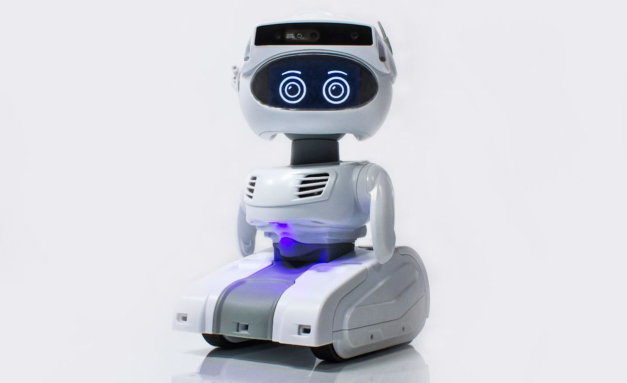 The Misty II personal robot is designed to do whatever you can program it to do, and more