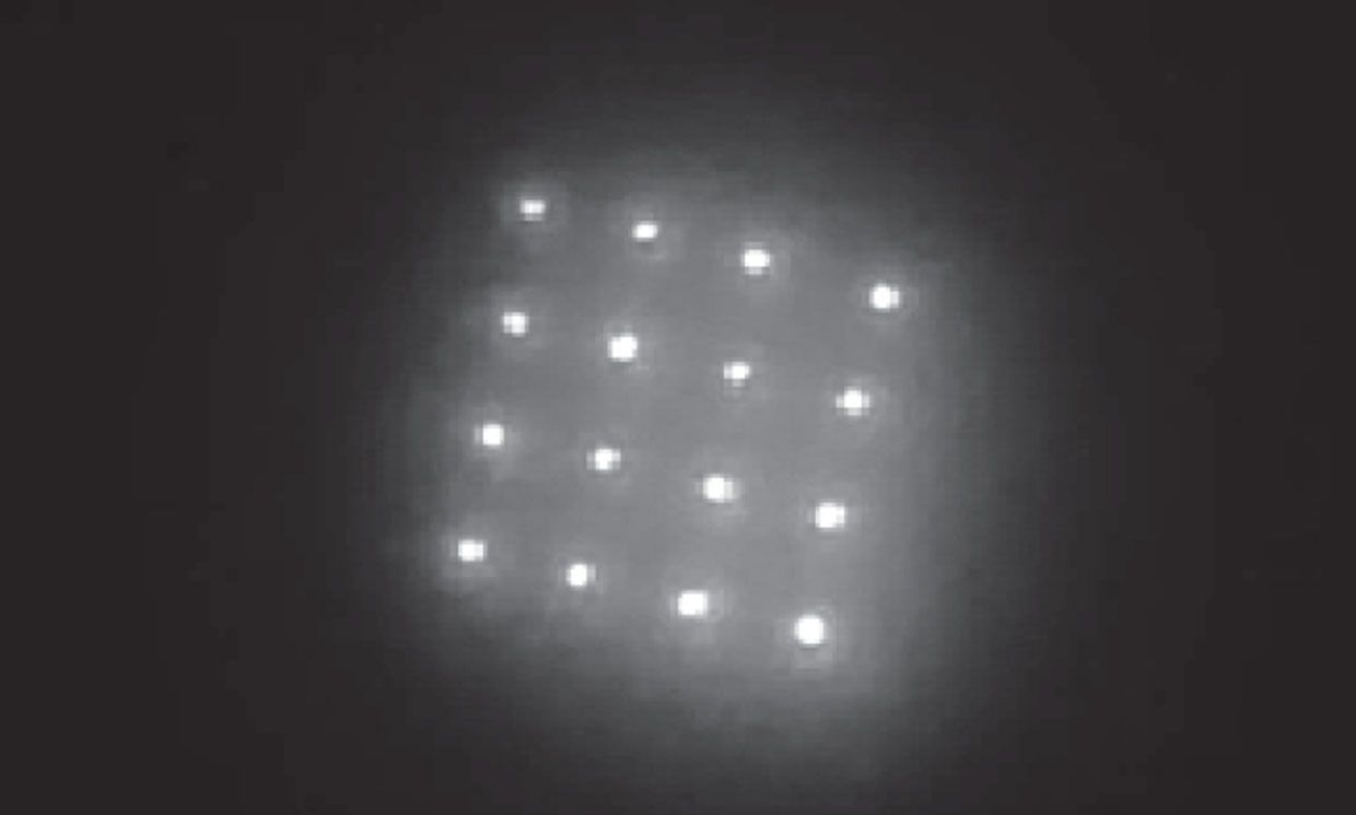 The researchers encapsulated their quantum dots in microspheres made of PMMA, a material that improves biocompatibility.