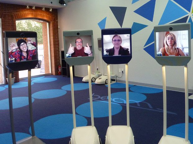 Suitable Technologies Opens Store Staffed Only by Robots